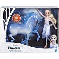 Disney Frozen Elsa Doll and Nokk Figure.