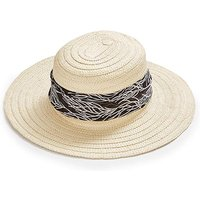 Scarf Tie Straw Hat