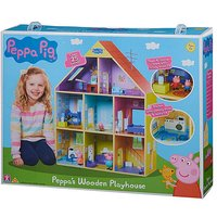 'Peppa Pig Deluxe Wooden Playhouse