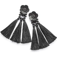 Flower And Tassel Earrings at Simply Be Catalogue Store