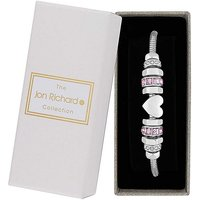 Image of Jon Richard Mixed Plate Charm Bracelet