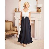 Nightingales Lace Detail Maxi Dress