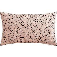 Speckled Blush Print Cushion