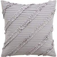 Pleated Ruffle Cushion