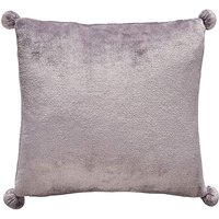 Fleece Pom Pom Cushion