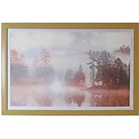 Arthouse Champagne Lakeside Framed Print
