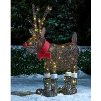 Rudolph in Boots with Lights