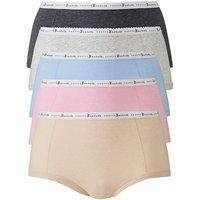 5 Pack Pretty Secrets Banded Marl Shorts