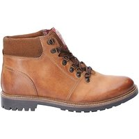 Base London Fawn Burnished Lace Up Boot.