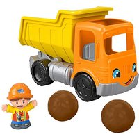 Image of Fisher-Price Little People Dump Truck