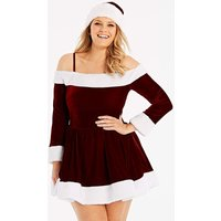 Ann Summers Sexy Miss Santa Dress Set