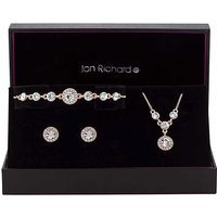 Jon Richard Halo Trio Jewellery Set