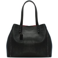 Daniel Mooch Leather Studded Tote Bag