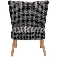 Quinn Houndstooth Accent Chair