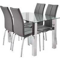 Zander Dining Table with 4 Dining Chairs