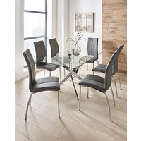 Meridien Table and 6 Zander Chairs at JD Williams Catalogue