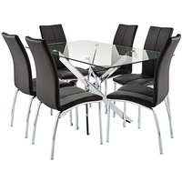 Meridien Table and 6 Zander Chairs