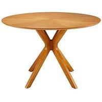 Sunburst Circular Dining Table