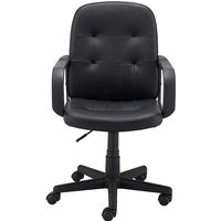'Parker Faux Leather Gaslift Office Chair