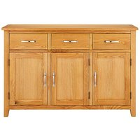 Norfolk Oak 3 Door 3 Drawer Sideboard