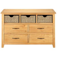 Norfolk Seagrass 3 Over 4 Sideboard
