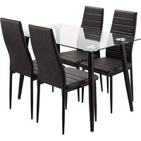 Rio Dining Table and 4 Chairs.