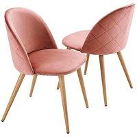 Pair of Klara Dining Chairs.