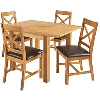Norfolk Small Extending Table 4 Chairs