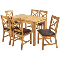 Norfolk Large Extending Table 6 Chairs