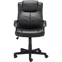 'Glide Faux Leather Gaslift Office Chair