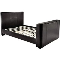 Newark Faux Leather Double TV Bedstead