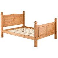 Corona Solid Pine Bedstead