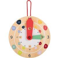 Children's Wooden Educate Wall Clock