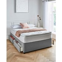 Layezee 800 Pillowtop 4 Drawer Divan Set