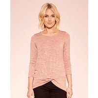 Knot Detail Jersey Top