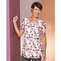 Ivory Floral Swing Lace Top