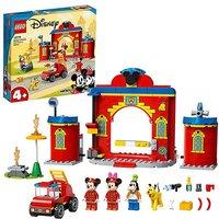 LEGO Mickey Fire Truck & Station.