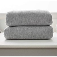 Clair De Lune Fitted Cot Bed Sheets 2pk