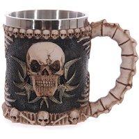 Gothic Gruesome Skull Decorative Tankard