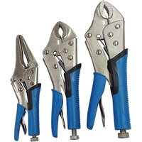 3 Piece Locking Grip Wrenches