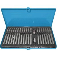 40 Pc 3/8-1/2 Bit Set - Chrome Vanadium