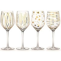 Mikasa Cheers White Wine Glasses.