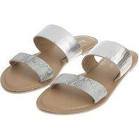 Accessorize Dani Double Strap Sandals