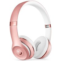 Image of Beats Solo 3 Headphones Rose Gold