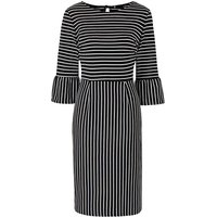 Ponte Stripe Dress