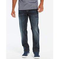 Lambretta Recharge Dark Wash Jeans 33in