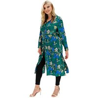 Lovedrobe Bright Floral Maxi Shirt