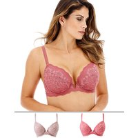 2pack Katie Lace Padded Plunge Bras