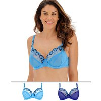 2pack Joanna Emb Full Cup Bras