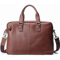Woodland Leather Tote Bag